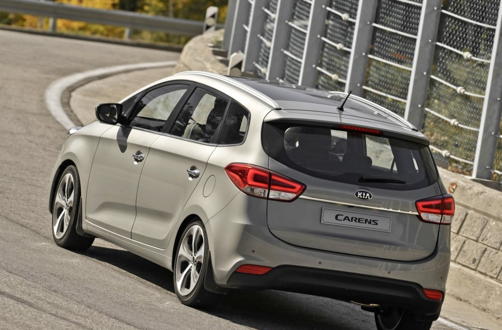 The New Kia Carens