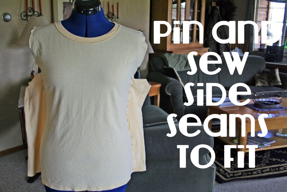 A DIY Spring T Shirt Refashion  (5/6)