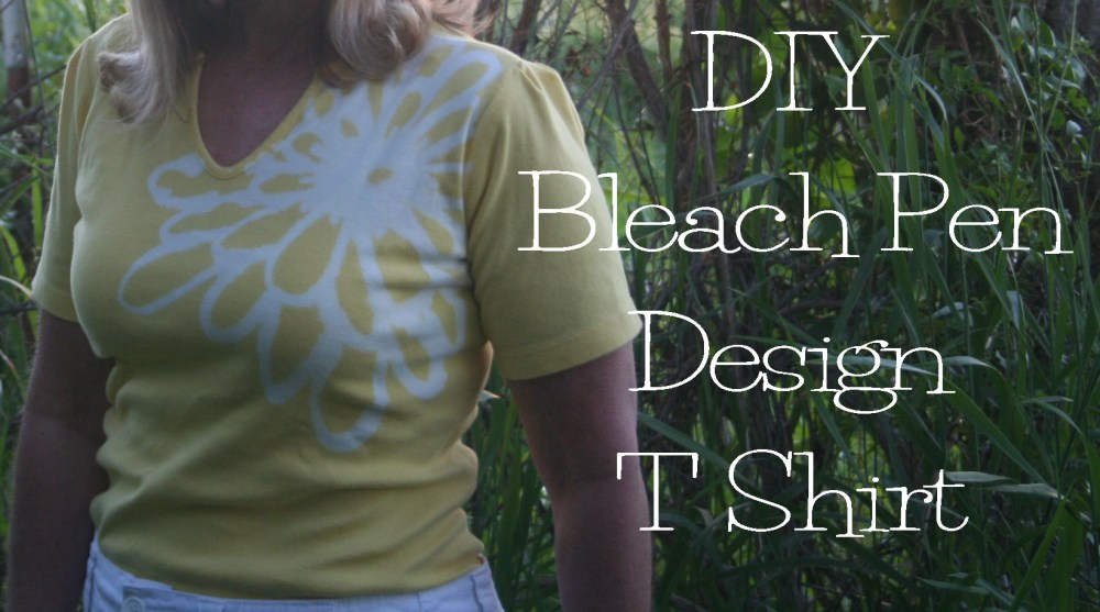 DIY Bleach Pen T Shirt Design (2/6)