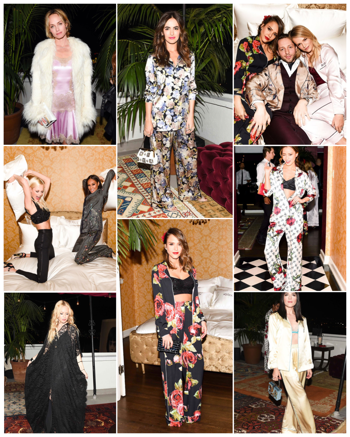 Party Chic The Insane Dolce Gabbana Pyjama Party Chic Every Week