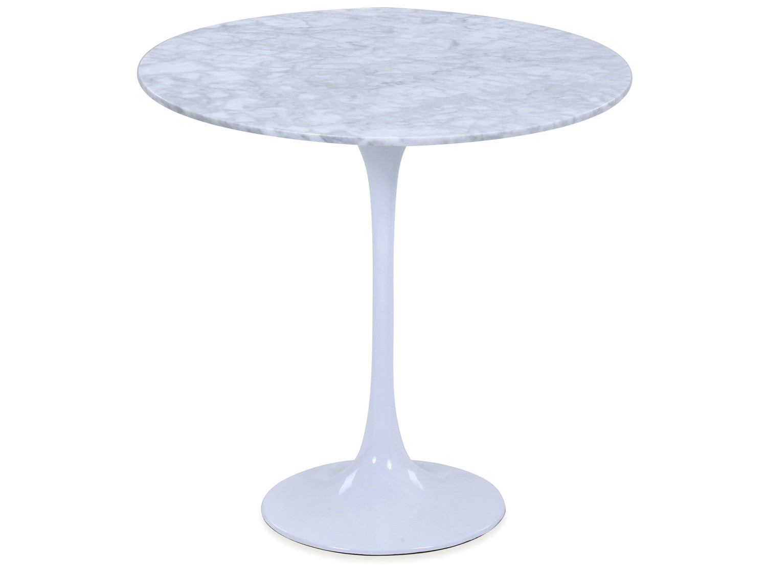 Tulip Table Tulip Side Table By Eero Saarinen (platinum Replica)