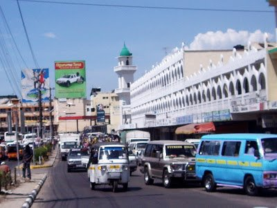 A Busy Street in Mombasa