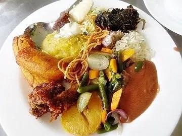 Food at Kaahwa Kanuzire, Igongo Cultural Centre