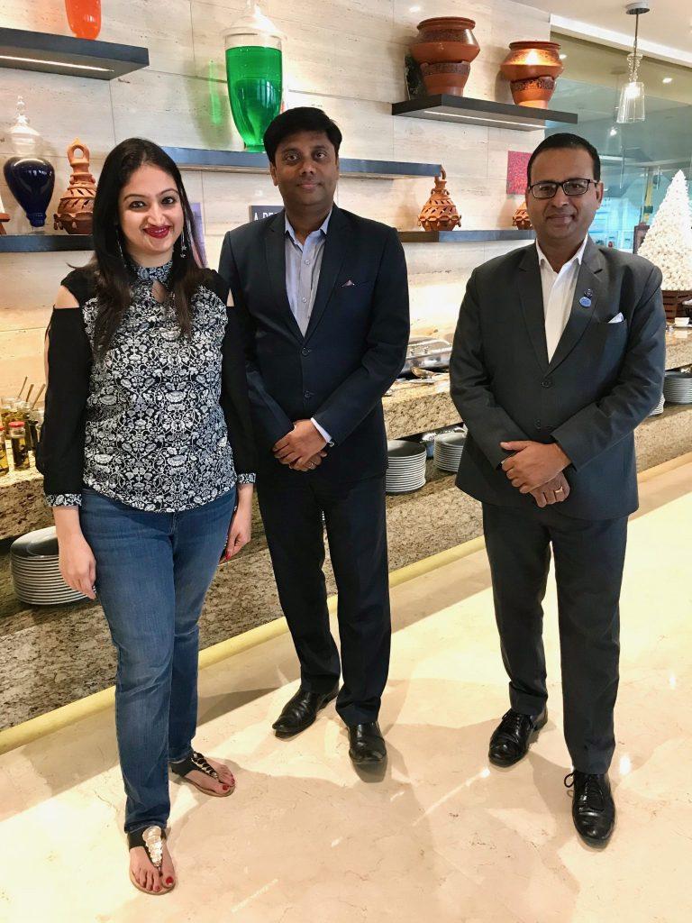 Raj Singh, General Manager & Aman Kishor, F&B Manager, Novotel Lucknow