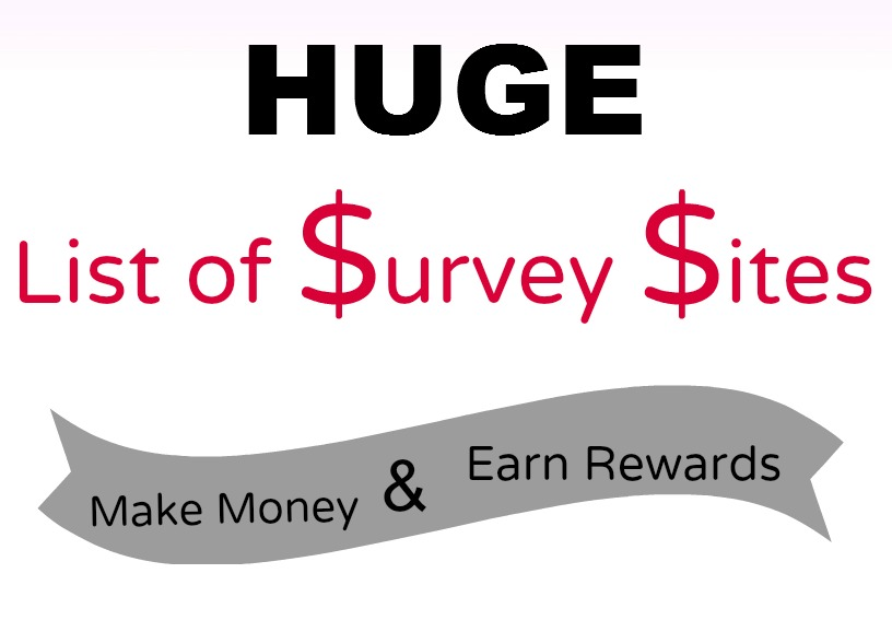List of Survey Sites to Join to Make Money Online!!