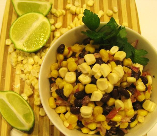 Chico's Pico Corn and Black Bean Salad
