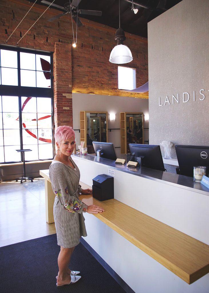 Landis Salon Front Desk - Chic Over 50
