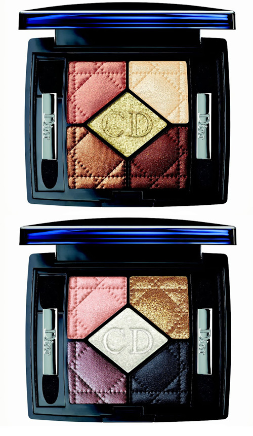 Pink Brown Eyeshadow Dior Golden Winter Collection Holiday 2013 - Beauty Trends