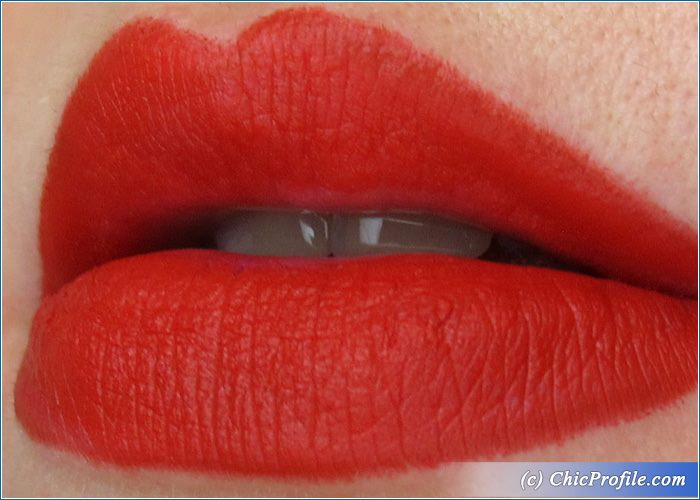 Artdeco Skin Yoga Urban Decay 714 Vice Lipstick Review, Swatches, Photos