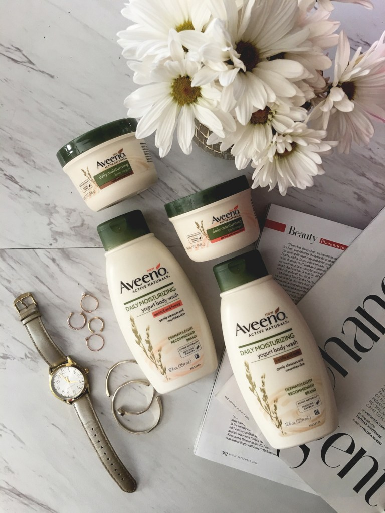AVEENO YOGURT LOTION AND BODY WASH | CHIC TALK