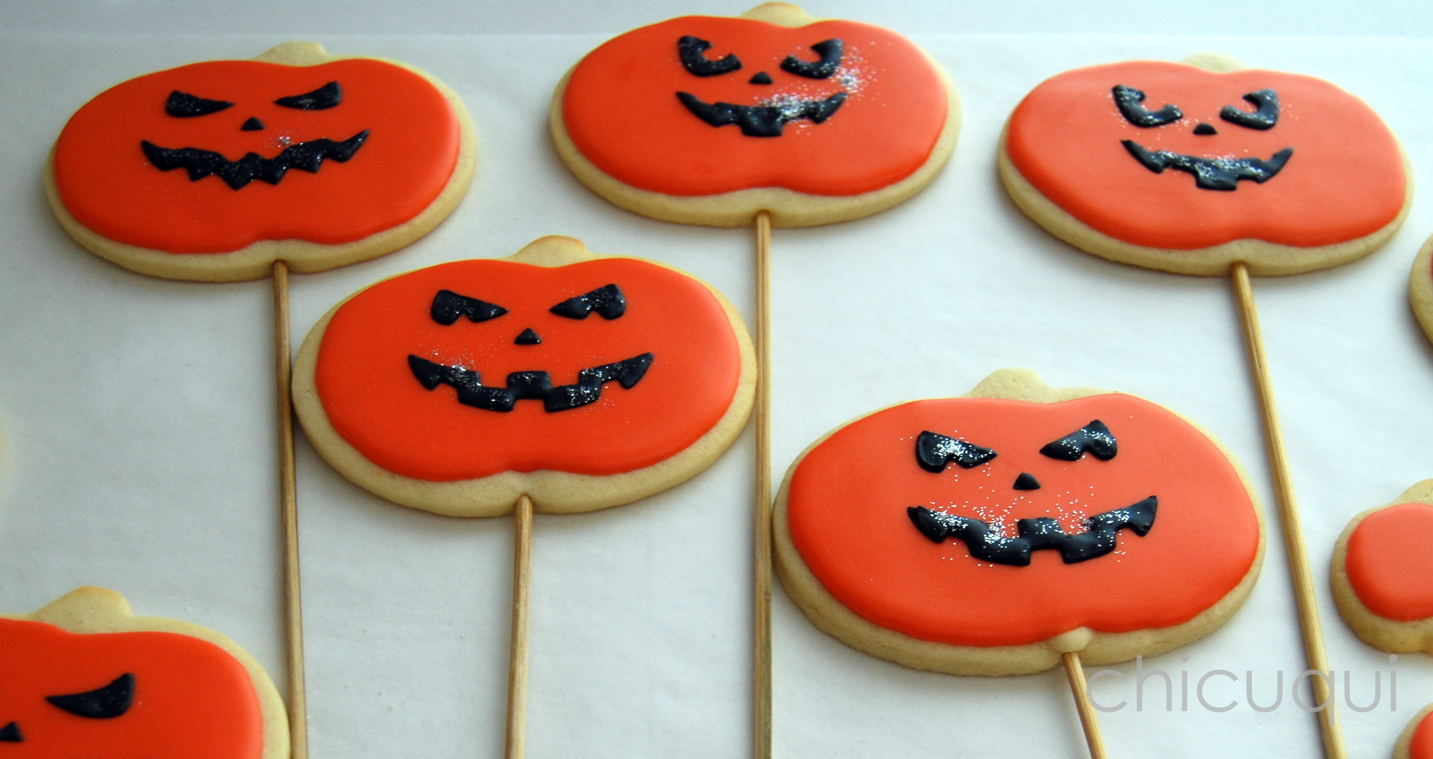 Galletas Decoradas Hallowen Tutorial Calabazas De Halloween Chicuqui