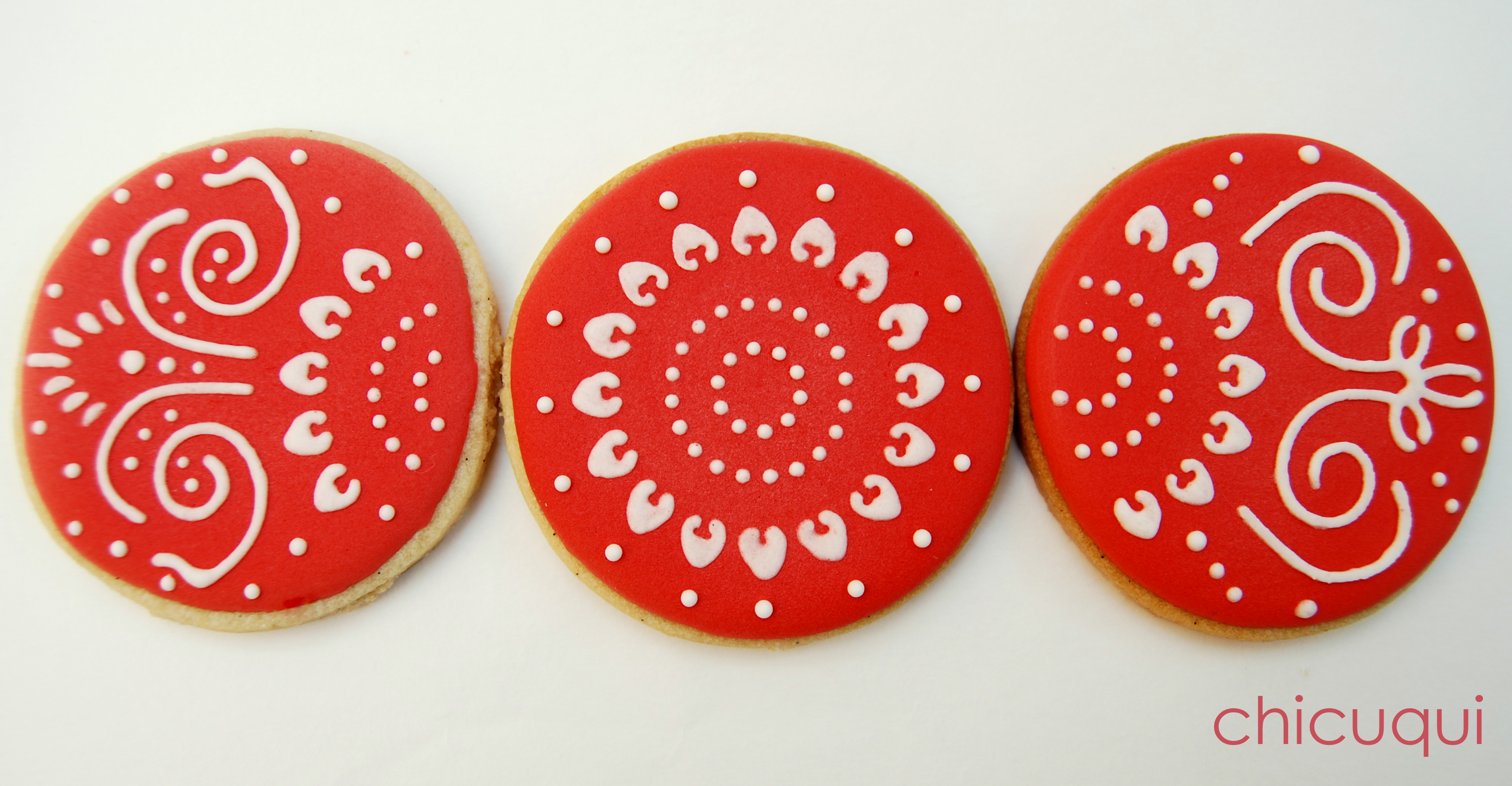 Tutorial De Galletas Decoradas Con Glasa Galletas Decoradas Con Stencils Para Tartas | Chicuqui