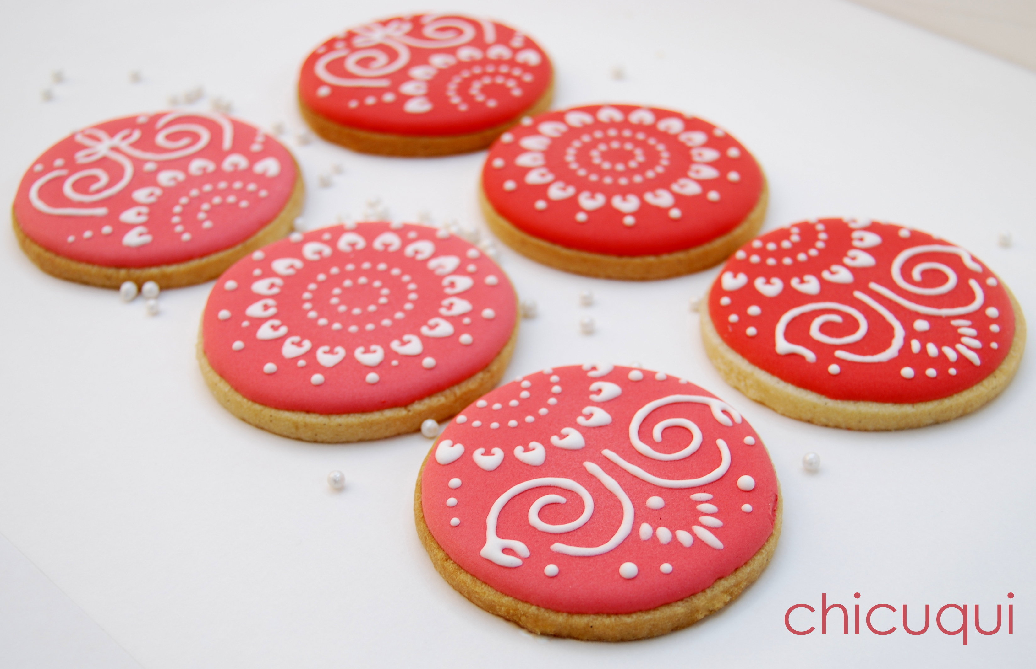Decorar Con Glasa Real Galletas Decoradas Con Stencils Para Tartas Chicuqui
