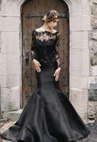 20 Beautiful (and bold!) Black Wedding Dresses : Chic ...