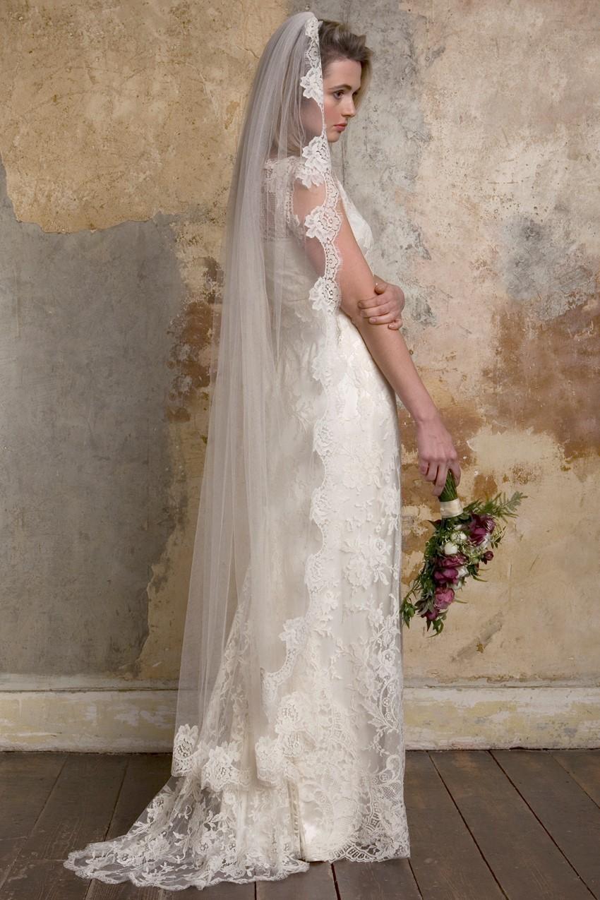vintage inspired wedding dresses vintage inspired wedding dresses Vintage Inspired Wedding Dresses from Sally Lacock Emmeline a s inspired wedding dress