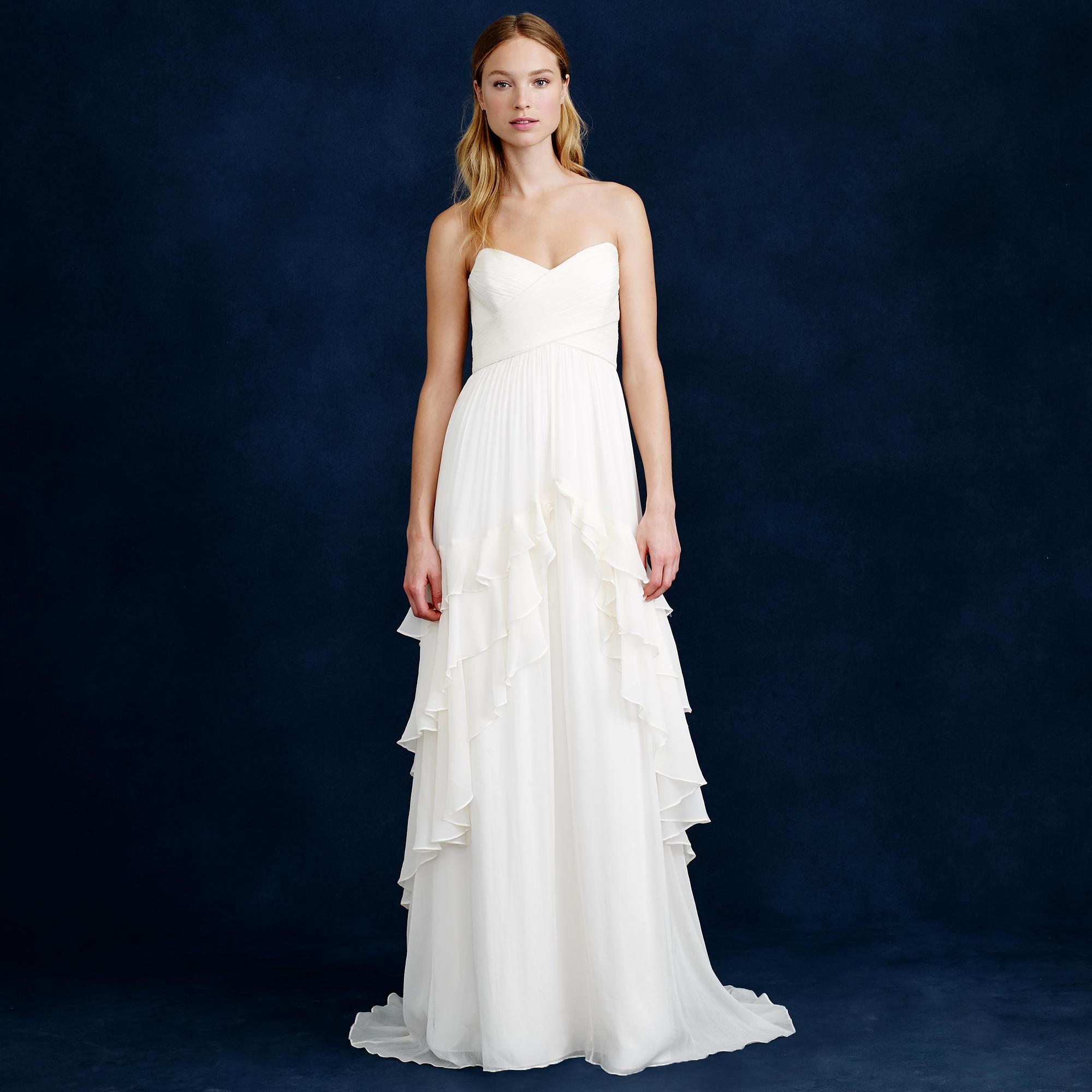 wedding dresses under wedding dress under Ruffled Wedding Dress Under