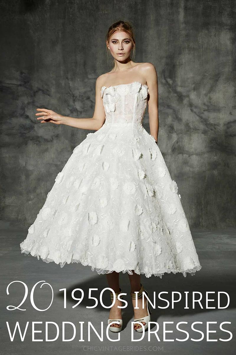 20 chic s wedding dresses vintage inspired wedding dresses 20 Chic s Inspired Wedding Dresses