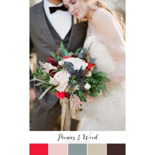 Medium Crop Of Winter Wedding Colors