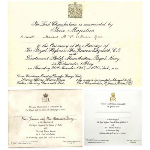 Medium Crop Of Royal Wedding Invitation