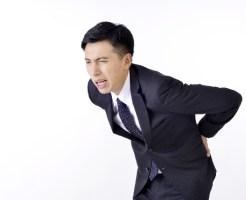背中の痛み 腰