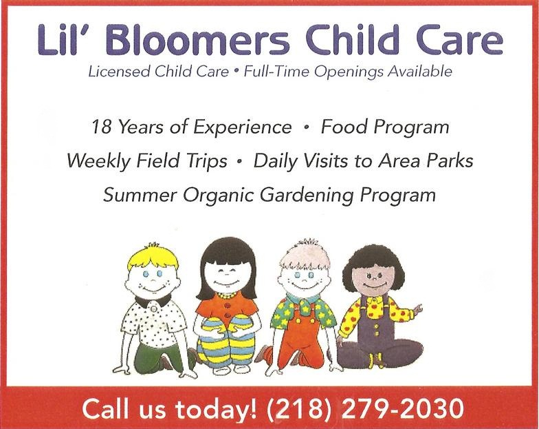 In-Home Daycare and Group Home Child Care in Duluth MN