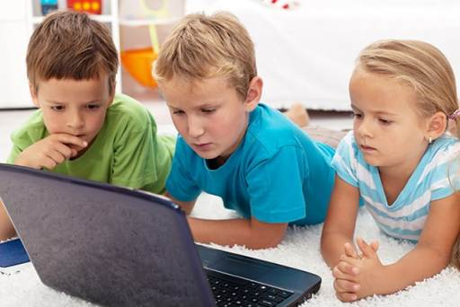 article on children and internet