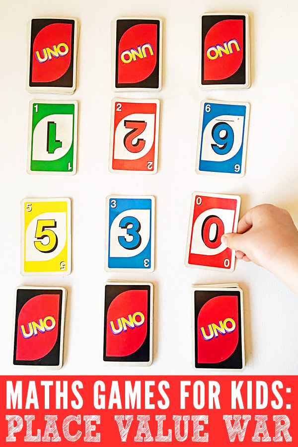 Math Games for Kids How to Play Place Value War