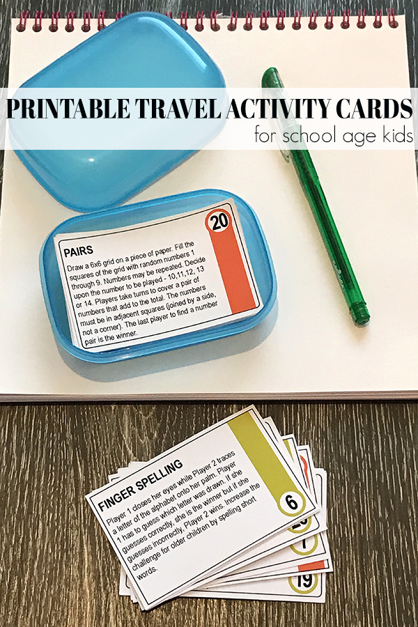 32 Awesome Travel Games for Kids Great for Road Trips