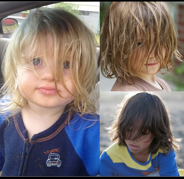 Baby Only Takes One Side At A Time 25 Buoyant Hairstyles For Little Boys With Long Hair