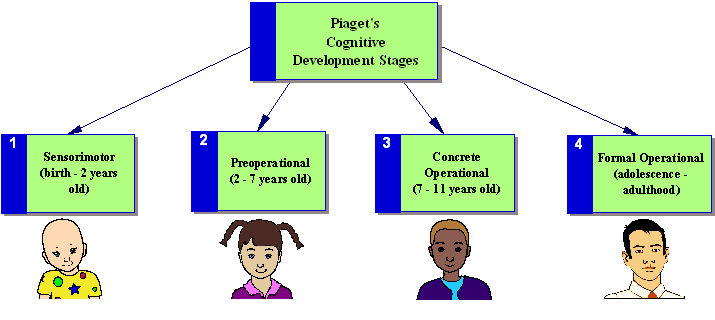 Stages Of Cognitive Development « Changes in Child Psychology