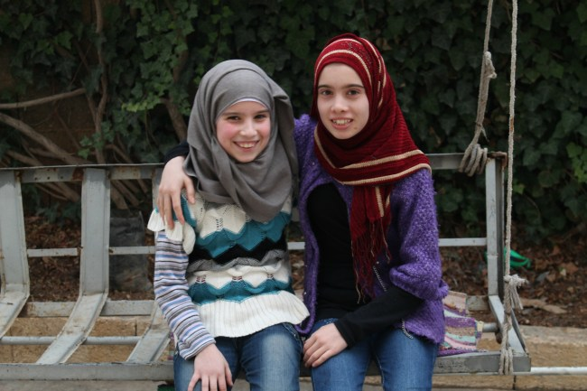 Sisters Iman and Amel