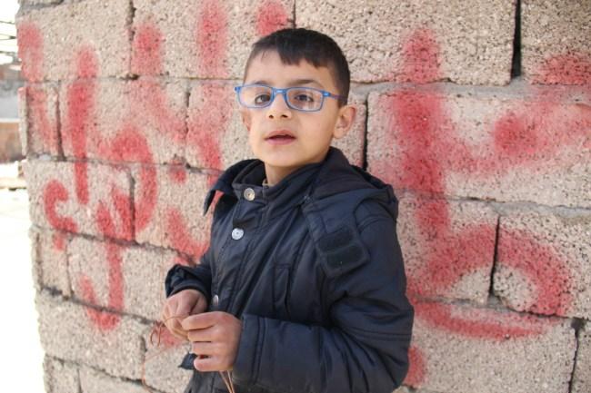 9-year-old Safi
