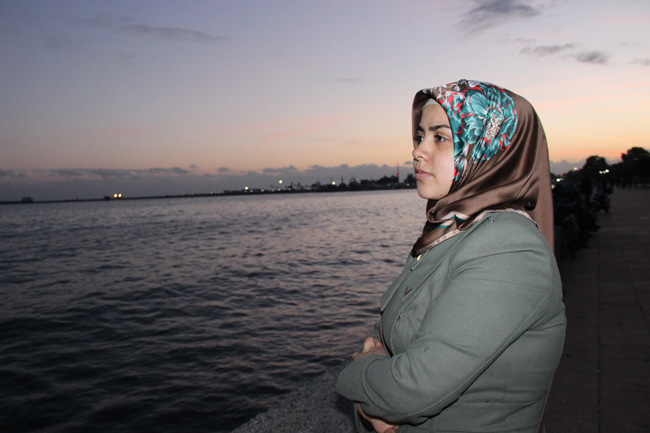"Azize says: ""I am happy living Mersin. It reminds me of Latakia. There are many things here that make me happy; a new life, meeting new people, and starting from scratch. Life is a struggle, no matter where it is."" ©UNICEF/Turkey-2014"