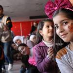 Mobile volunteer teams bring joy to children affected by conflict in Syria's Homs governorate