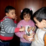 Malnourished triplets in Aleppo receive life-saving nutrition treatment thanks to the generous support of the UAE