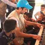 Zade Dirani Brings Music and Message of Hope to Children Affected by the Syria Conflict