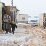 Children and families in Syria face dropping temperatures with little protection from the cold
