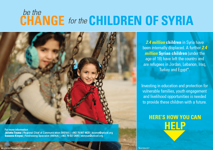 Children of Syria cover