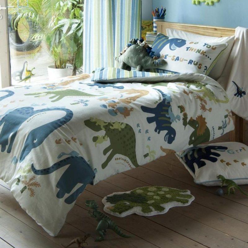 Dinosaur Theme Bedding Children39s Room