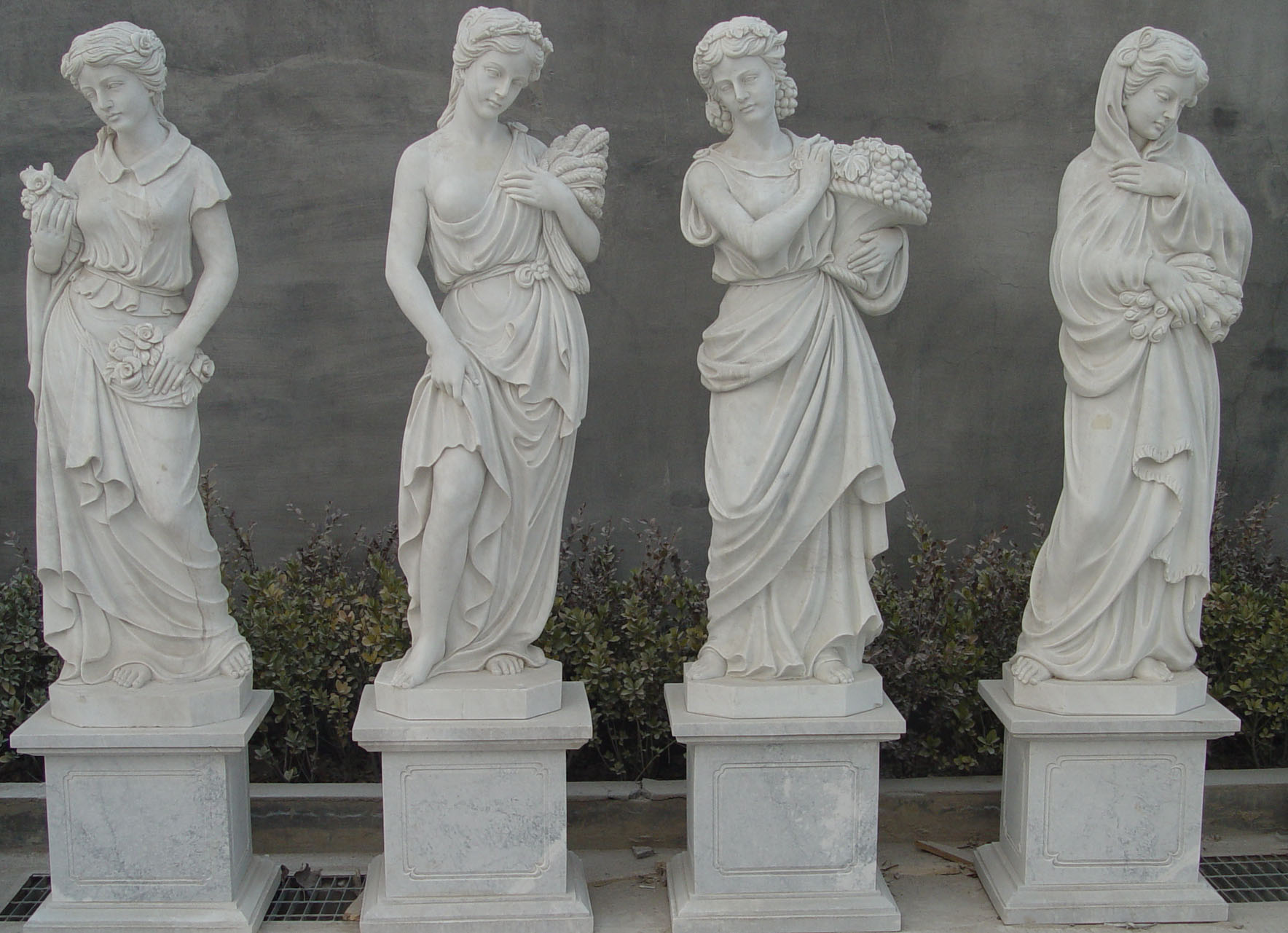 Ancient Greek Statues For Sale Four Seasons Hand Carved Marble Statues St Angelo 39s