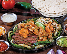 Fajitas-Trio---Beef,-Shrimp,-Chicken