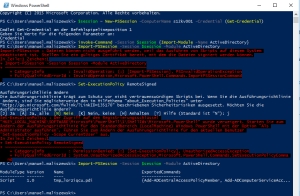 Windows 10 Powershell RSAT 6