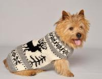 Reindeer Shawl - Chilly Dog Sweaters