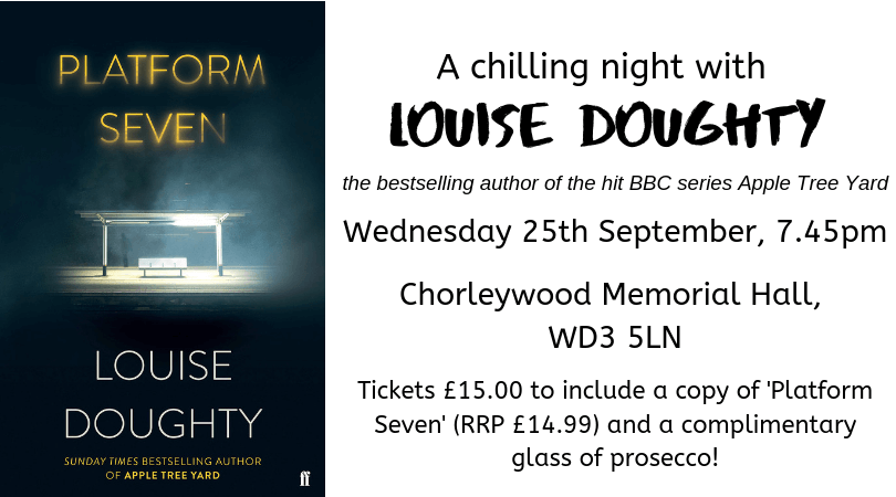 Gerrards Cross Bookshop A Chilling Night With Louise Doughty Chiltern Bookshops