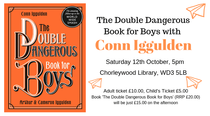 Gerrards Cross Bookshop The Double Dangerous Book For Boys With Conn Iggulden