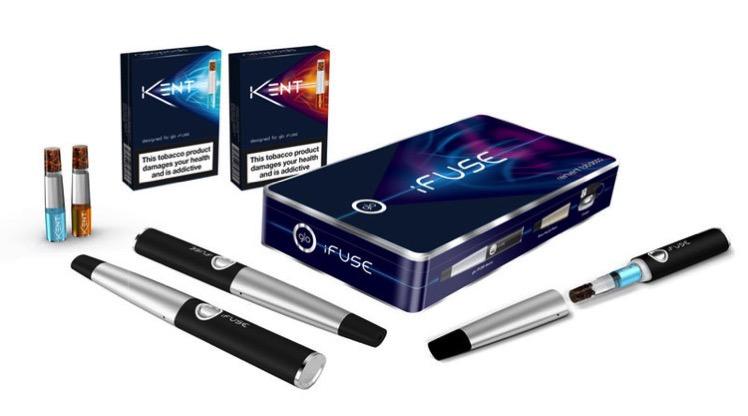 新たな加熱式タバコ【iFUSE】が登場!年内にも発売か!?