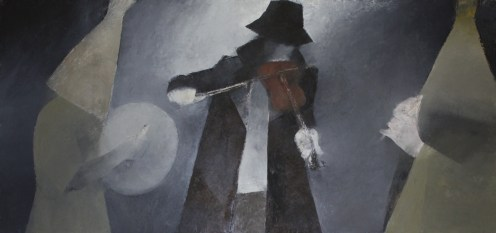 """Mummers"" by Cormac O'Leary at the Chimera Gallery,Mullingar,Co Westmeath"