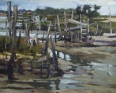 'Harbour' by Dave West at the Chimera Gallery., Mullingar, Co Westmeath , Ireland