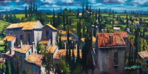 'Carcassonne Landscape' by Dave West
