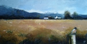 'Autumn field' by Petra Berntsson at the Chimera Gallery, Mullingar, Co Westmeath, Ireland
